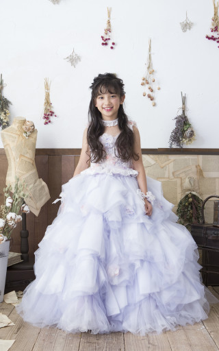No.4481 7歳用ドレス