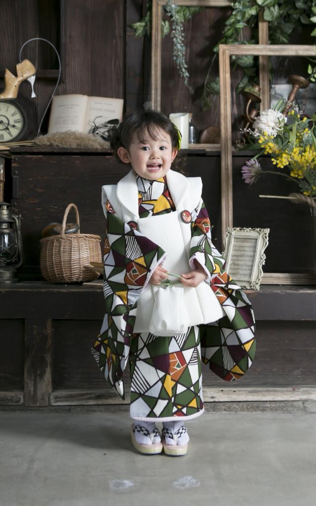 3歳用被布着物の衣装画像1