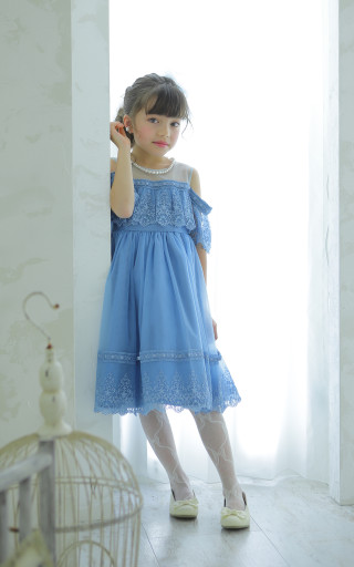 No.4494 7歳用ドレス