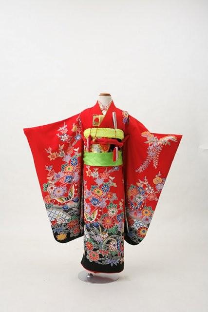 七五三レンタル着物の衣装画像1