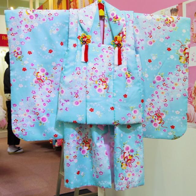 3歳女の子 被布の衣装画像1