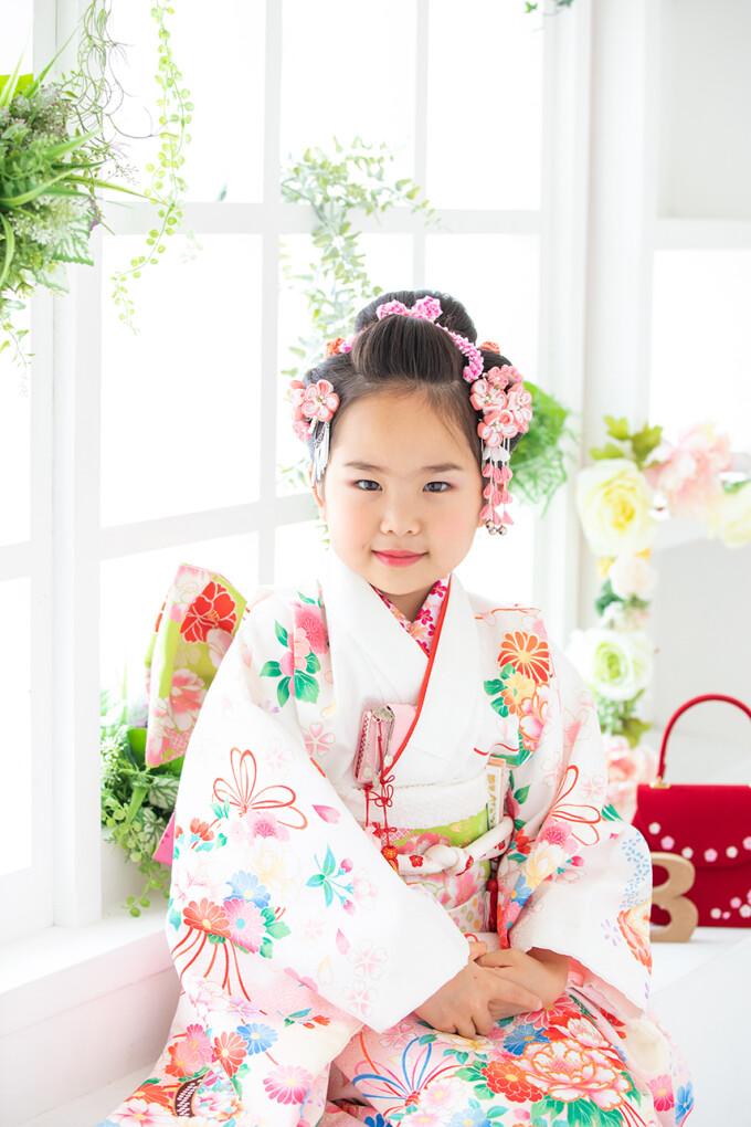 七五三 7歳女児 早撮りキャンペーン