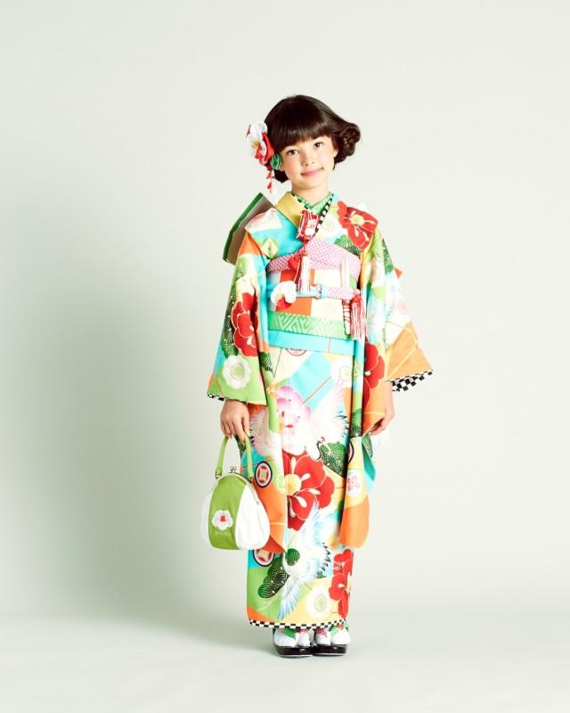 七五三7歳用お着物!Japan style♪の衣装画像1