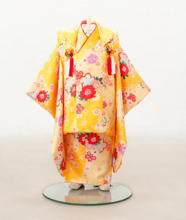 被布黄色の衣装画像1
