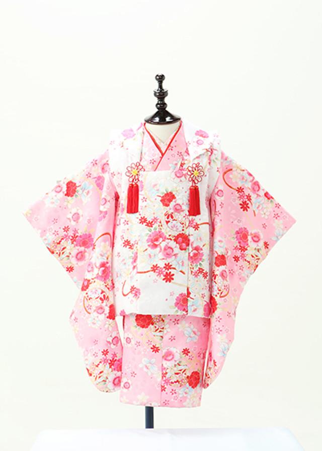 被布 ピンクの衣装画像1