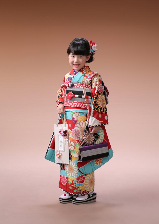 赤×水色 4-101の衣装画像1