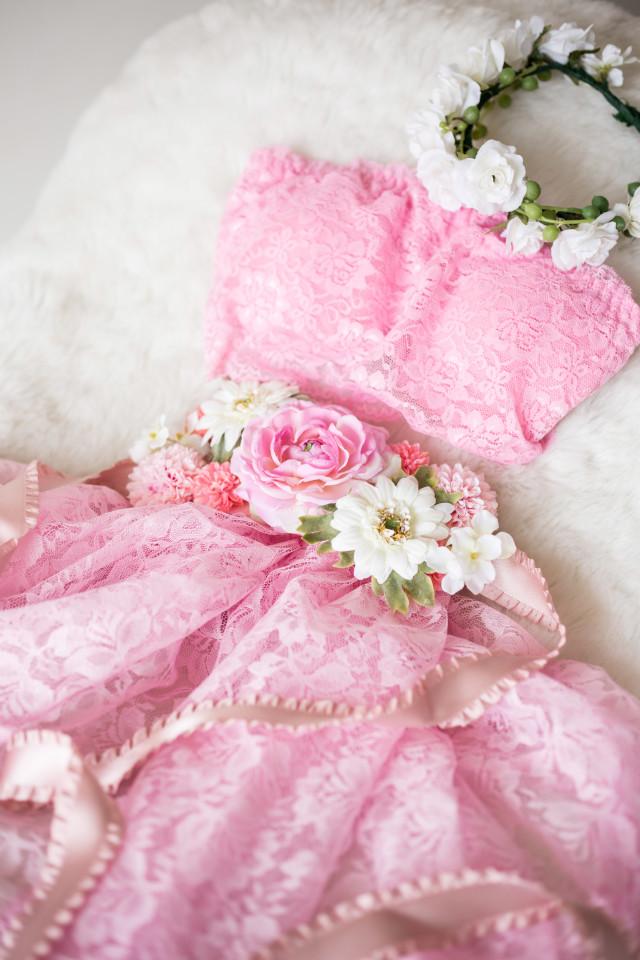 マタニティドレス パステルピンクの衣装画像1