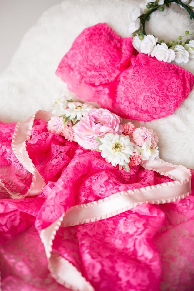 マタニティドレス チェリーピンクの衣装画像1