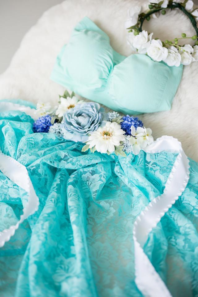 マタニティドレス オリオンブルーの衣装画像1
