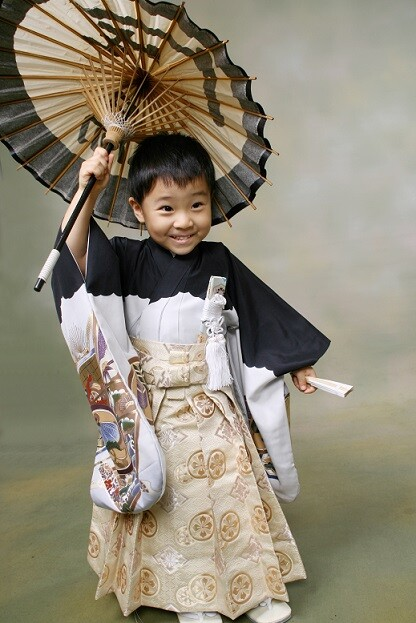 七五三(3歳・男の子)の衣装画像2