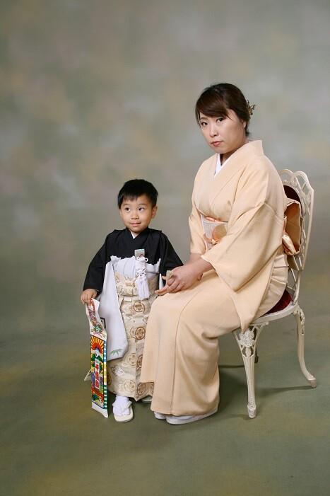 七五三(3歳・男の子)の衣装画像3