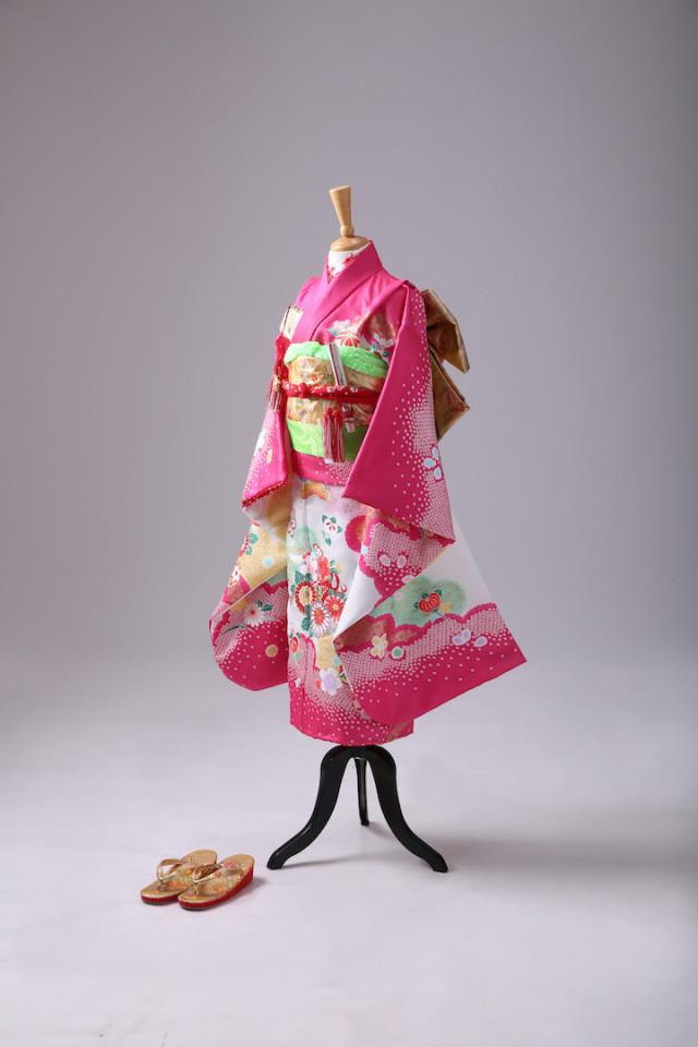 お宮参り 正絹 特選衣装の衣装画像1