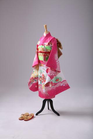 No.2303 お宮参り 正絹 特選衣装