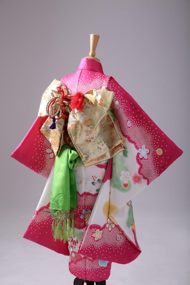 お宮参り 正絹 特選衣装の衣装画像2
