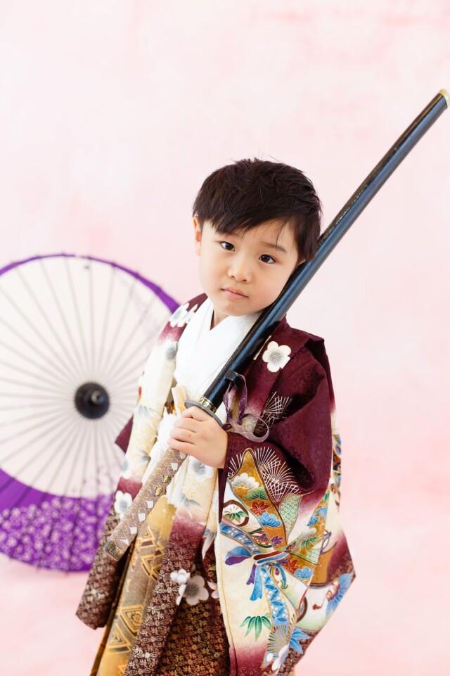 五歳羽織袴の衣装画像1