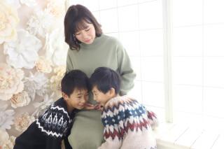 Photostudio Souriez 湊川神社前店のマタニティスタジオサムネイル画像
