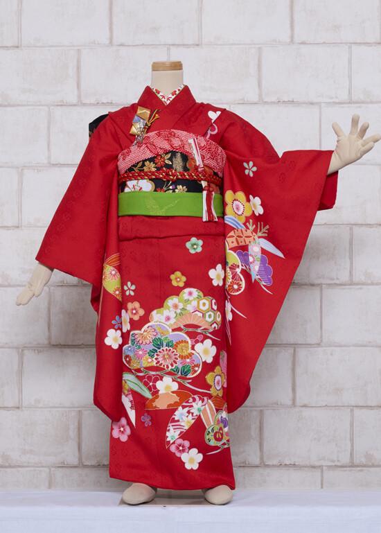 花松(正絹)の衣装画像1
