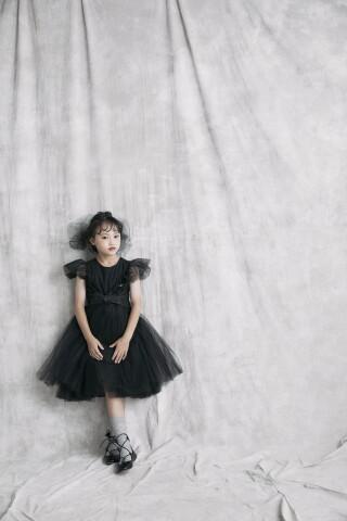 No.2600 チュールワンピースドレス