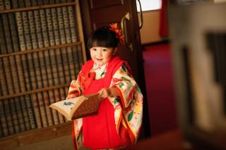 3歳七五三 被布・帯・袴スタイル