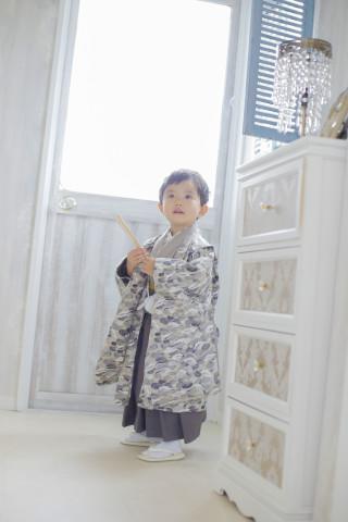 ハンドメイド着物3才 男の子