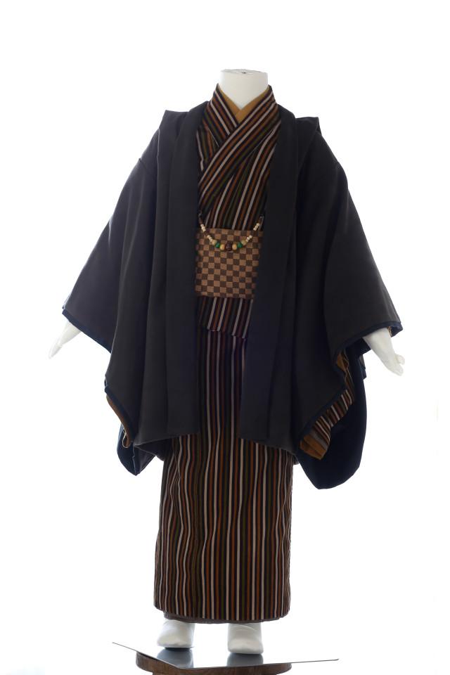 モス茶ストライプ(5歳)の衣装画像1