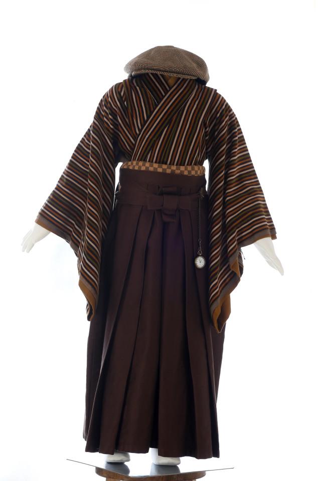 モス茶ストライプ(5歳)の衣装画像2