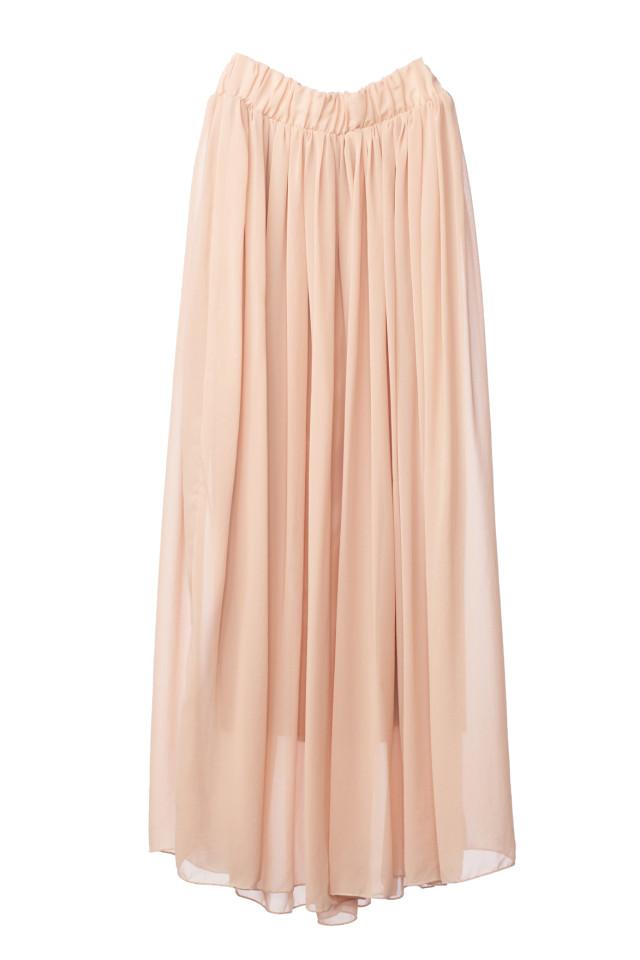 マタニティスカート ベージュの衣装画像1
