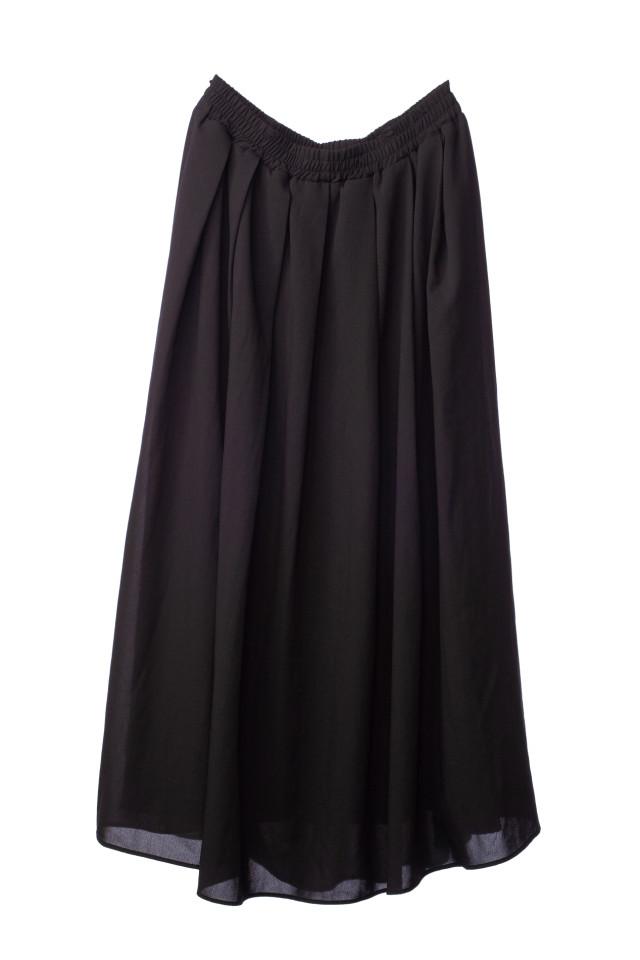マタニティスカート ブラックの衣装画像1