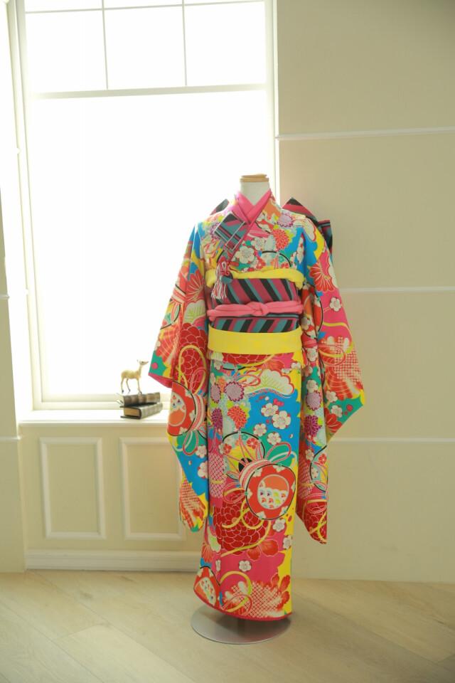 着物 7歳の衣装画像1