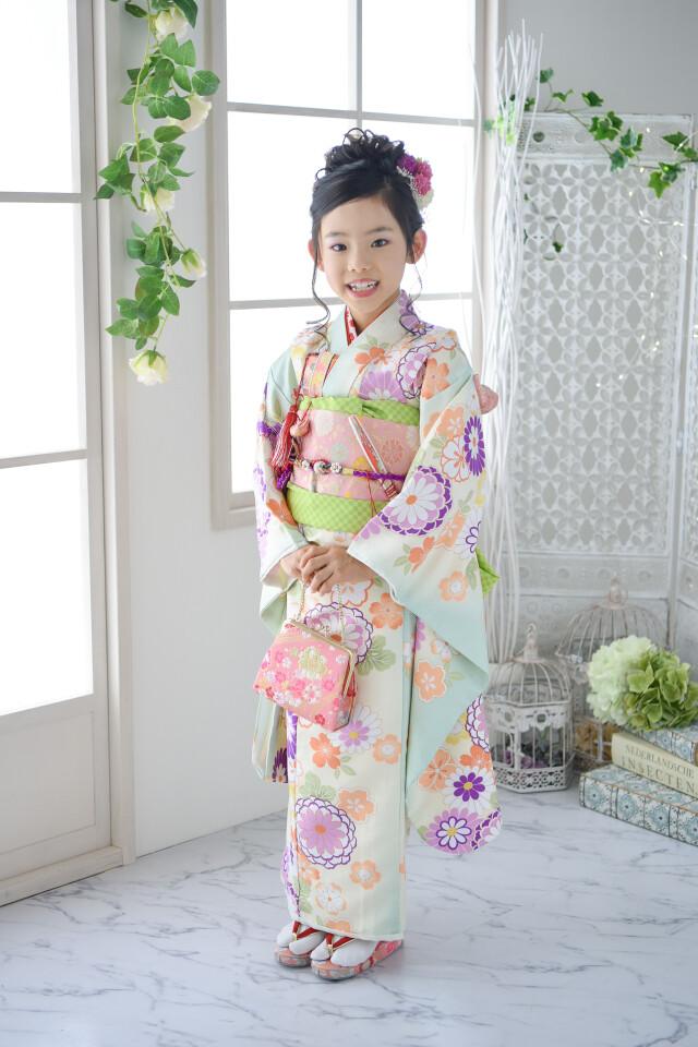 川越店7歳着物の衣装画像1