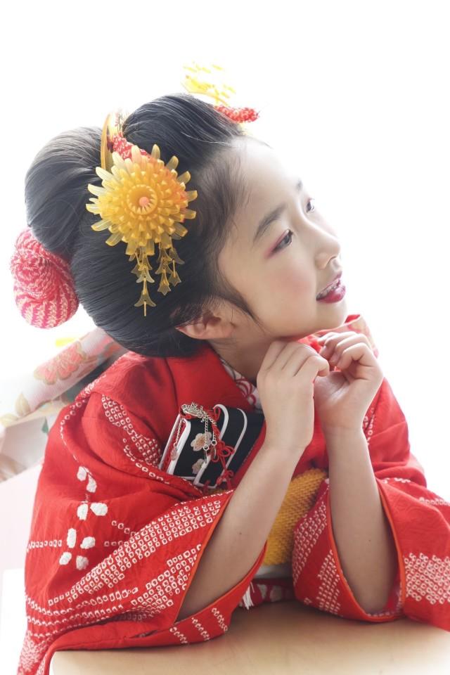 新作正絹振袖7歳の衣装画像3