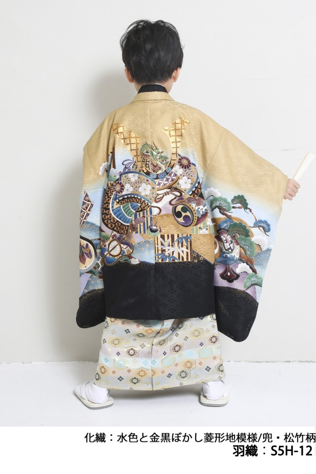 人気5歳羽織袴の衣装画像1