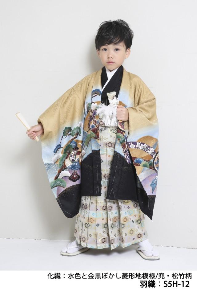 人気5歳羽織袴の衣装画像2