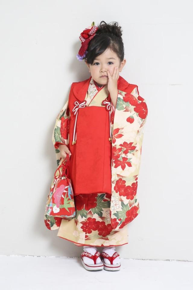 ひまりオリジナルテキスタイル着物とお被布の衣装画像1