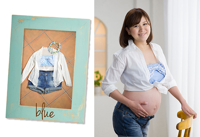 blueの衣装画像1