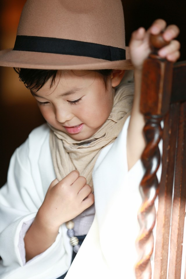 5歳男の子 オリジナル着物の衣装画像3