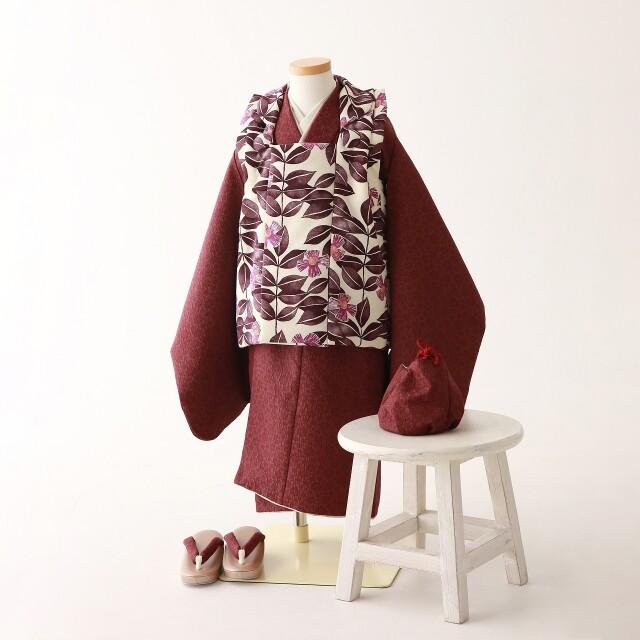 《2020年新作 A-Studioオリジナル》3歳女の子 七五三着物の衣装画像1