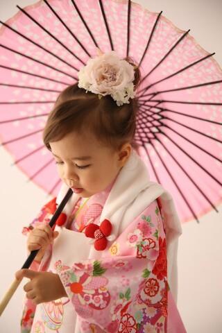 No.5540 3歳女の子 ピンク被布
