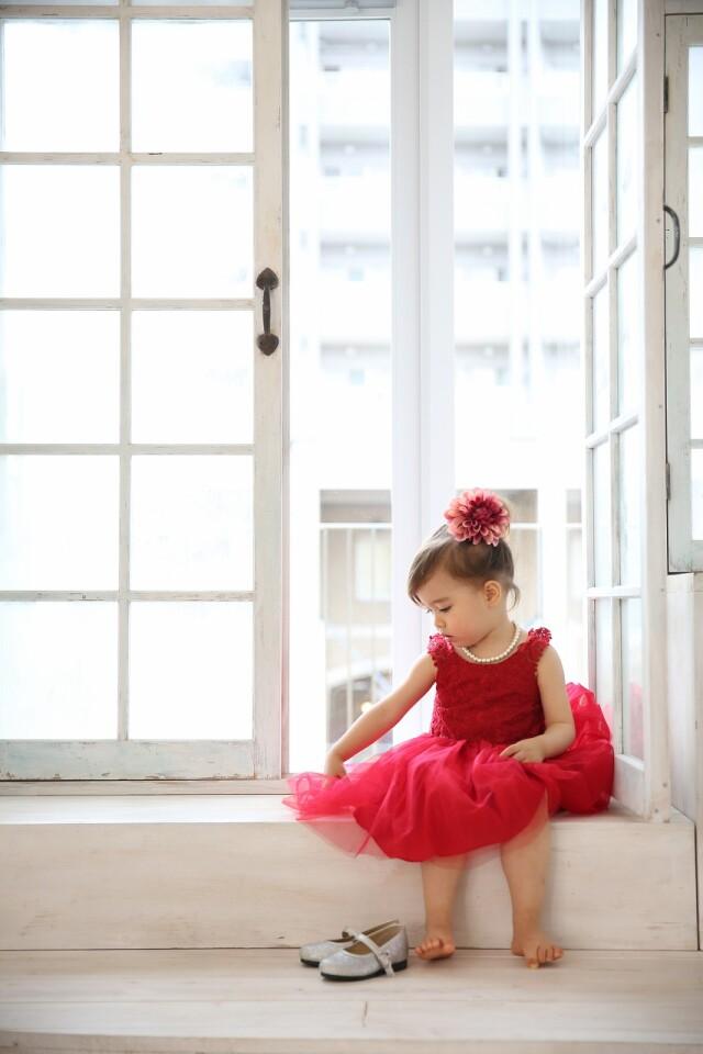 3歳女の子 ドレスの衣装画像1