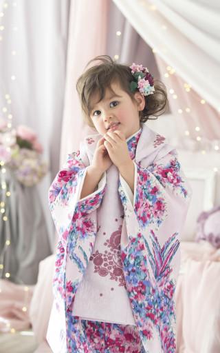 3歳用被布着物
