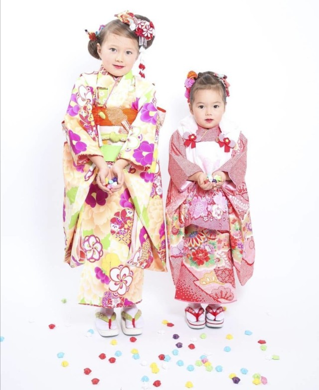 3歳絞り着物の衣装画像3