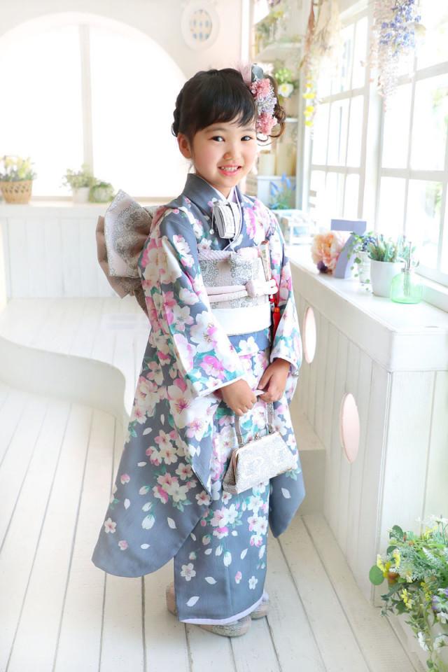 霞のお着物の衣装画像1