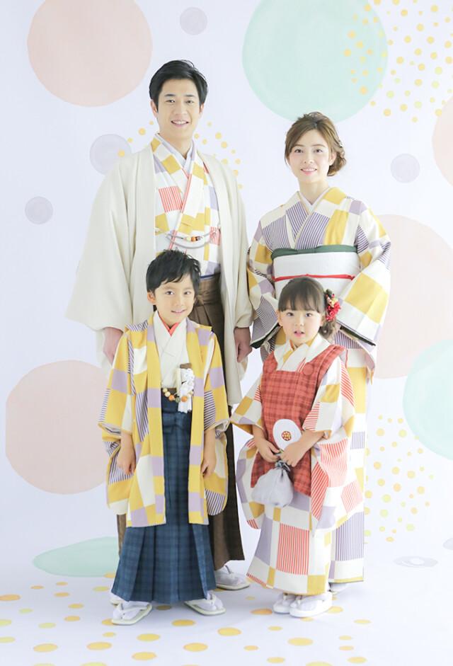 家族リンクコーデの衣装画像1