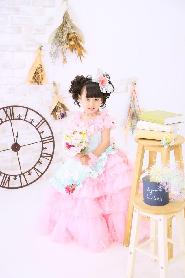 3歳女の子:2WAYドレスの衣装画像1