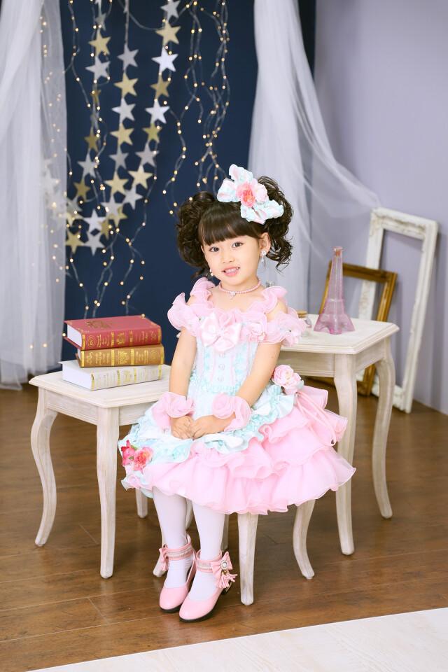 3歳女の子:2WAYドレスの衣装画像3