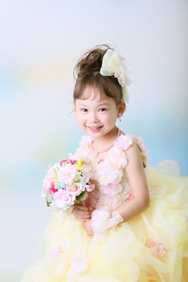 3歳女の子:YELLOWドレスの衣装画像1