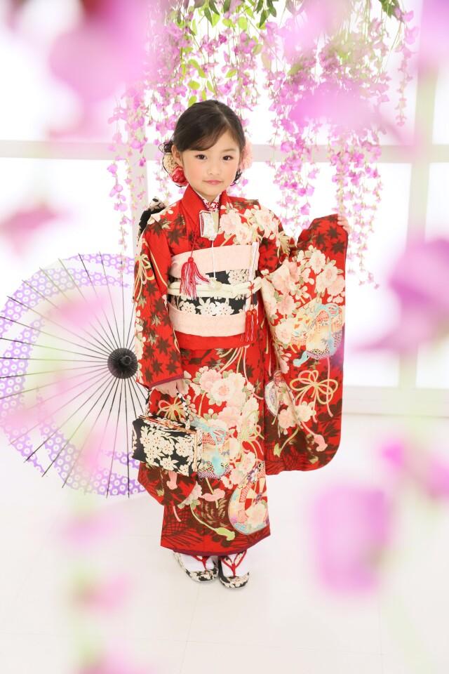 7歳女の子:華徒然の衣装画像1