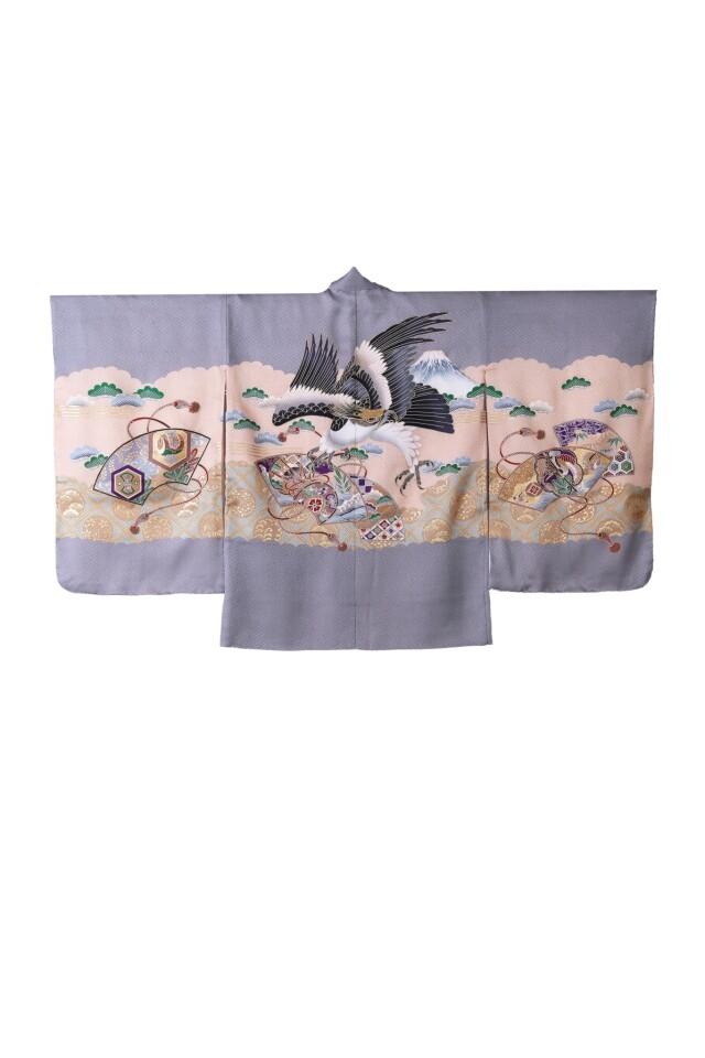 高級正絹5歳羽織袴セット【芝公園・港区本店スタジオ】の衣装画像2
