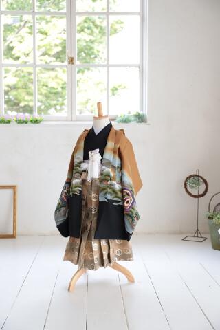 No.5982 5歳男児羽織袴